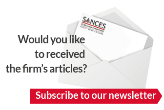 would you like to received the firm's articles? Subscribe to our newsletter.